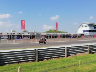 Pillion experience Motorbike Oulton Park